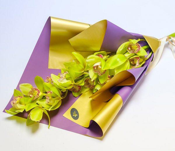Mini orchidėjos puokštė